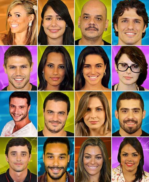 Participantes BBB12