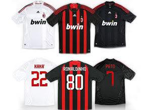 Ronaldinho Camisa 80 do Milan