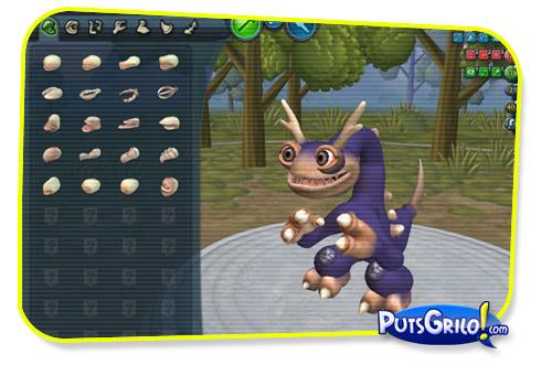 Game Spore: Criador de Criaturas