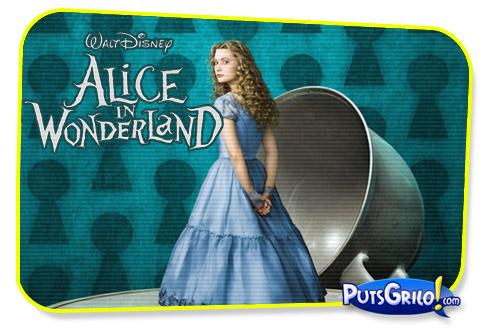 Alice no País das Maravilhas de Tim Burton Ganha Trailer