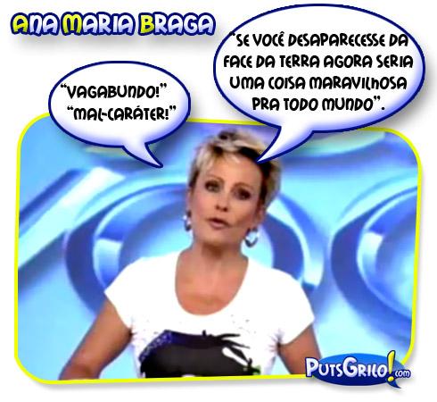 Vídeo: Ana Maria Braga Xinga Marcelo Silva [Ex de Suzana Vieira]