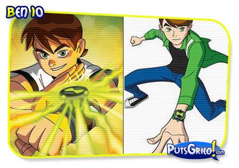 Os Personagens de Desenho Animado Cresceram