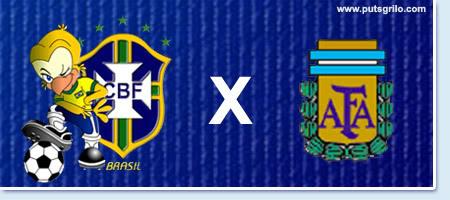 Copa América: Brasil e Argentina