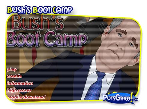 Jogos Online: Sapato no Bush!