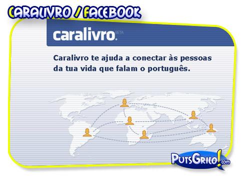 Você sabia? Facebook em Portugal é Caralivro!