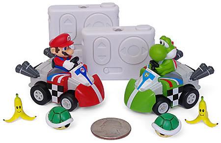 Jogue Super Mario Kart de Brinquedo
