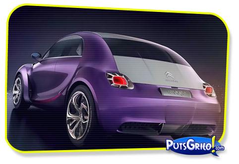 Citroën Revolte: Fotos de um Carro-Conceito Futurista