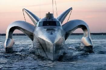 Imagem Curiosa: Earthrace = Nave ou Navio?
