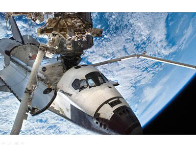 Endeavour: Fotos do Espaço