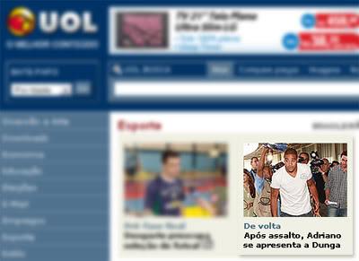 Curiosidades: Erro de Português no UOL