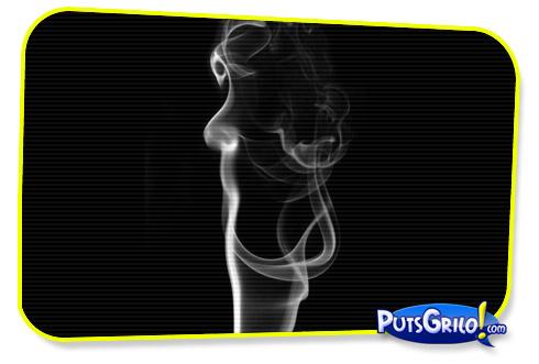 Artista faz Fotos Fantásticas com Fumaça de Incenso