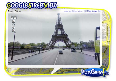 Google Street View em Animação Stop Motion