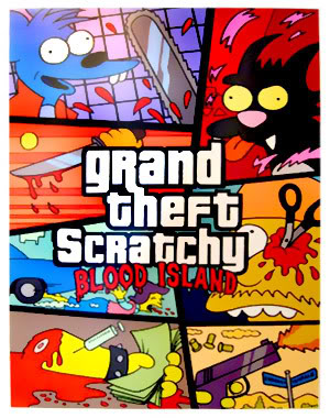 GRAND THEFT SCRATCHY - GTA DOS SIMPSONS