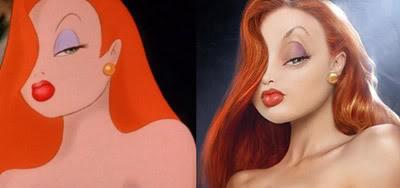 Montagem Perfeita: Jessica Rabbit Real