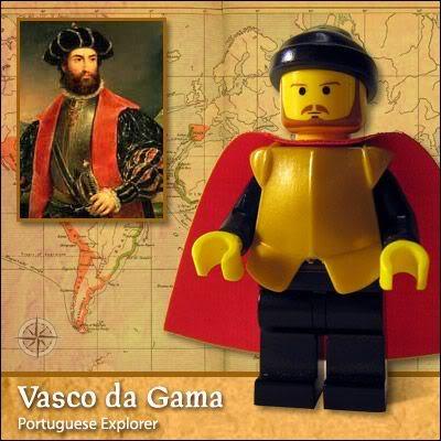 Lego Celebridade: Vasco da Gama