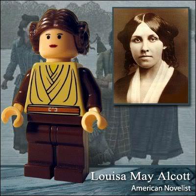 Lego Celebridade: Louisa May Alcott