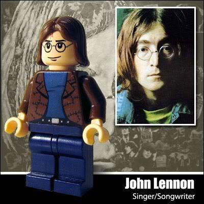 Lego Celebridade: John Lennon