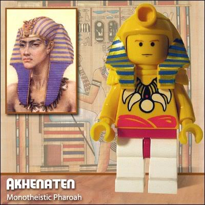 Lego Celebridades: Akhenaten