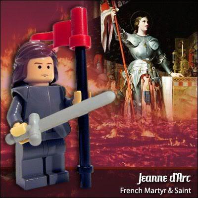 Lego Celebridades: Joana D'arc