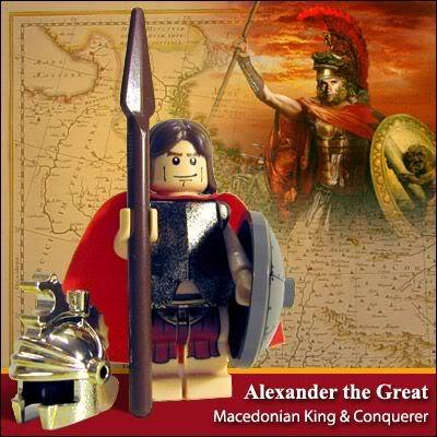 Lego Celebridades: Alexandre, o Grande.