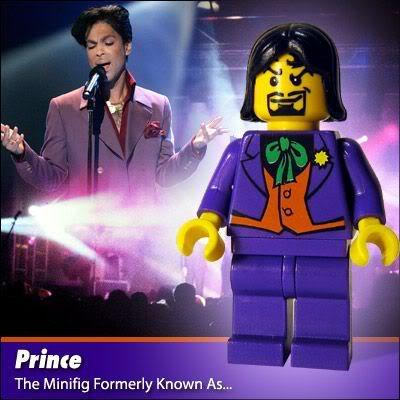 Lego Celebridades: Prince
