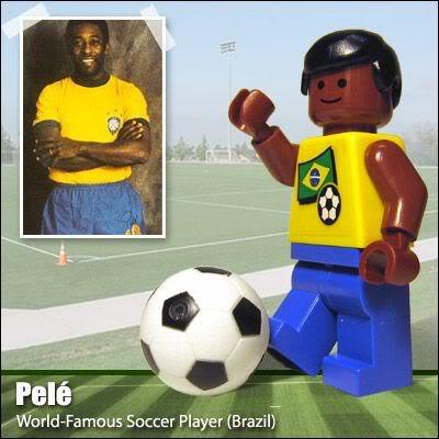 Lego Celebridades: Pelé