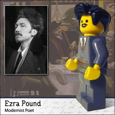 Lego Celebridades: Ezra Pound