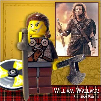 Lego Celebridades: William Wallace