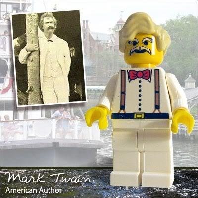 Lego Celebridades: Mark Twain