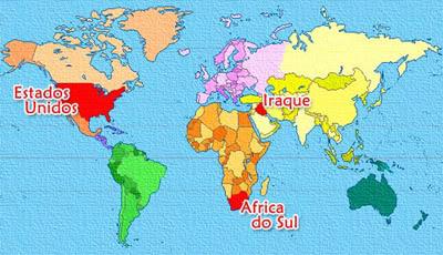 Americanos x Geografia: Quem vence essa guerra?