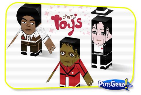 Michael Jackson PaperToy