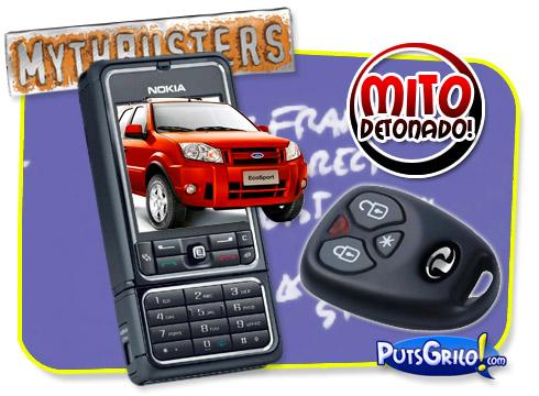 Mythbusters: Mito Detonado - Alarme de Carro Por Celular