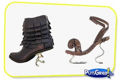 Moda: Fotos de Sapatos e Sandalhas Bizarros
