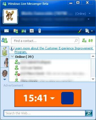 MSN - Windows Live Messenger 9