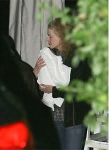 Fotos da filha de Nicole Kidman