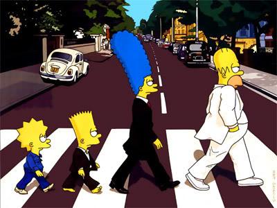Os Simpsons em versão Beatles