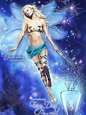 Foto: Paris Hilton Vira Fada em Propaganda