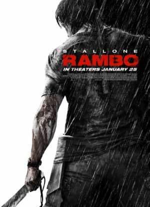 Filme Rambo 4 - IV - Poster Oficial