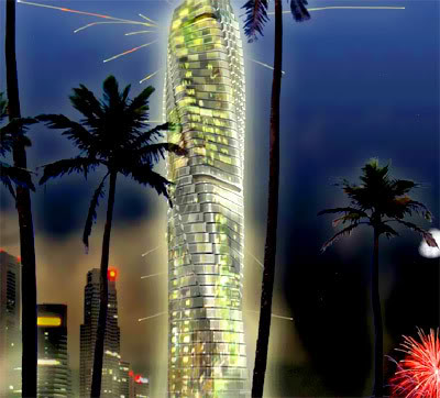 Dubai: Rotating Tower