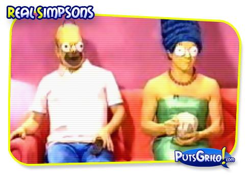 Vídeo Bizarro: Real Simpsons