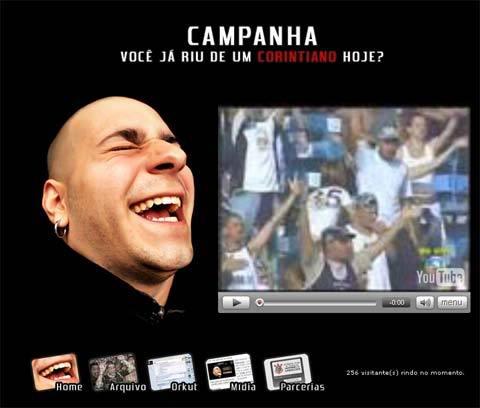 Campanha Você já riu do Corinthians hoje?