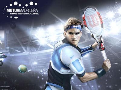 Tênis: Fotos de Nadal e Federer Futuristas