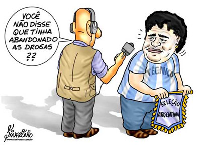 Futebol: Diego Maradona é o novo técnico da Argentina
