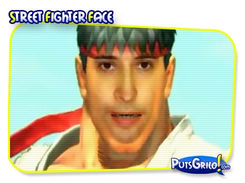 Street Fighter 4: Vire um Personagem do Jogo