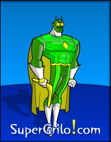 SuperGrilo! Crie Seu Próprio Super-Herói de Histórias em Quadrinhos