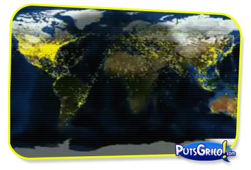 Aviação: O Tráfego de Aviões no Mundo em Vídeo