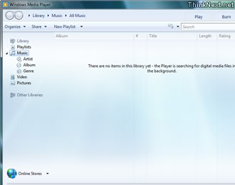 Windows 7: Windows Media Player