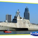 Fotos Navio Caça Piratas Estados Unidos
