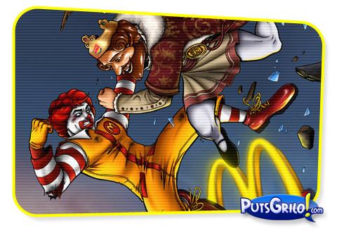 McDonald's vs Burguer King: A Guerra do Fast-Food