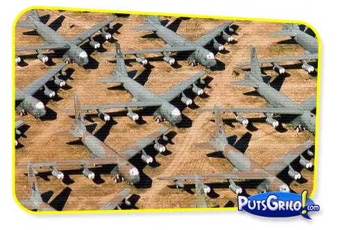 avioes 1 Fotos: Depósito de Aviões de Guerra dos Estados Unidos